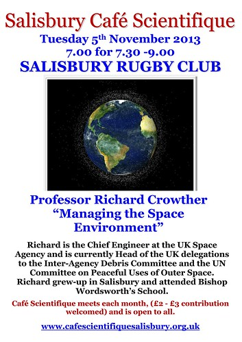 """Poster for Prof Richard Crowther • <a style=""""font-size:0.8em;"""" href=""""http://www.flickr.com/photos/56773095@N06/10195568003/"""" target=""""_blank"""">View on Flickr</a>"""