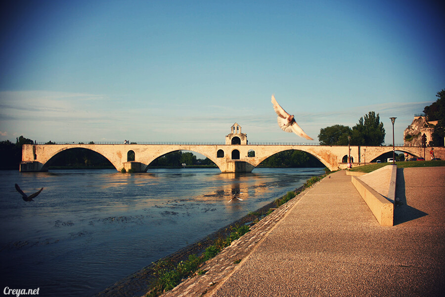 2016.10.16 | 看我的歐行腿| 夕陽西下更美麗的南法普羅旺斯古城,亞維儂 18