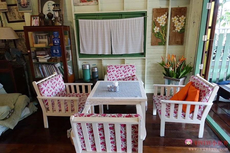[泰國.民宿]安帕瓦愛之家旅館 (Baanrak Amphawa).河岸邊的悠閒與浪漫.豐富的泰式早餐~划船供僧 @VIVIYU小世界
