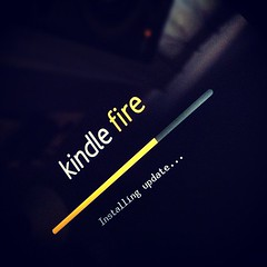 ShoutOut to my Kindle Fire just randomly updat...