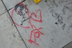 Edward Snowden stencil by Eclair Acuda Banders...