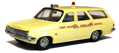Trax 1965 Holden HD Ambulance