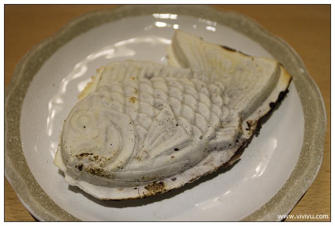 板橋,美食,若葉,鯛魚燒 @VIVIYU小世界