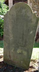 Peake headstone