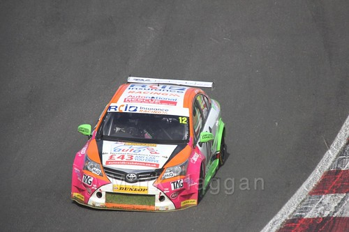 Mike Epps during the BTCC Brands Hatch Finale Weekend October 2016