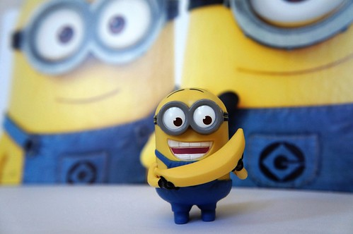 """Happy Meal Minion Toys • <a style=""""font-size:0.8em;"""" href=""""http://www.flickr.com/photos/44124329770@N01/9346936865/"""" target=""""_blank"""">View on Flickr</a>"""