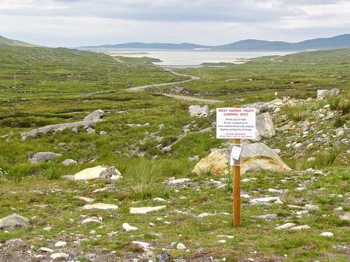 Harris campsite