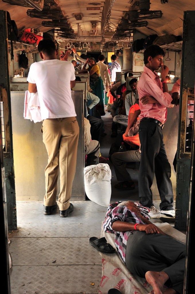 India train Second class Sitting