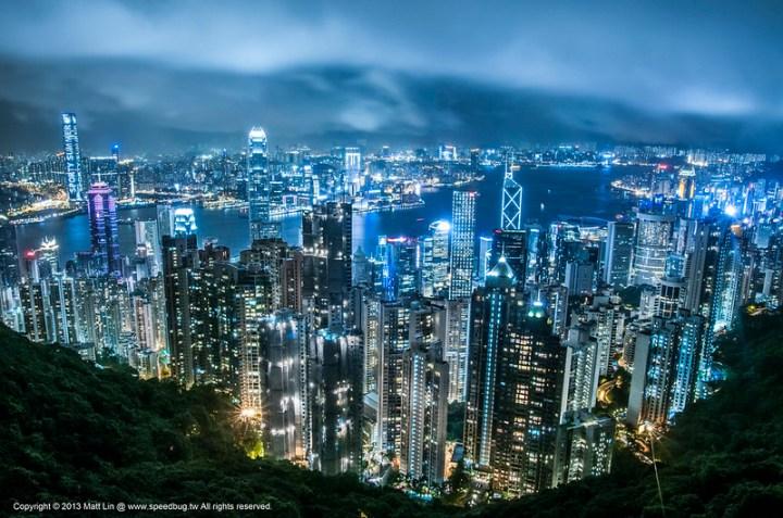 【香港】The Peak 太平山頂凌霄閣.眺望香港百萬夜景