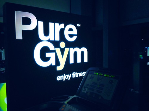 Today is all about...late evening gym session