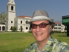 It's me standing in front of Monrovia High School.
