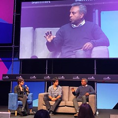Governments need to be more mindful about and take action to protect citizens from online harassment. Women are especially susceptible. - Salil Shetty, @amnesty secretary general, on a #websummit panel with #wikileaks' legal advisor Juan Branco.