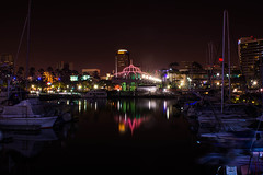 Long Beach at Night