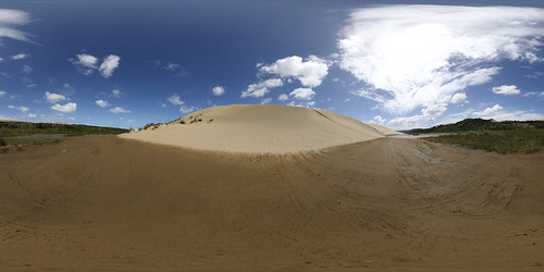 Sand Dunes @ 90 Mile Beach - Panorama