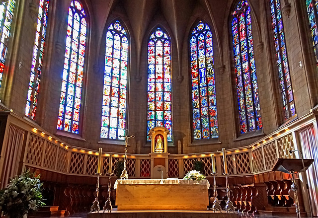Luxembourg-5148 - Main Altar