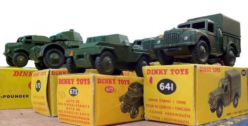 Dinky GB militari