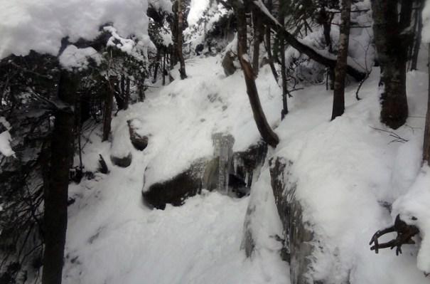 Kinsman Ridge Trail Ice