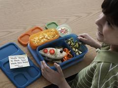 LunchBlox Kids Rocket Sandwich