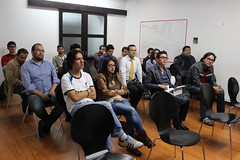 "El meetup oficial del framework Django • <a style=""font-size:0.8em;"" href=""http://www.flickr.com/photos/125112507@N02/14382360217/"" target=""_blank"">View on Flickr</a>"