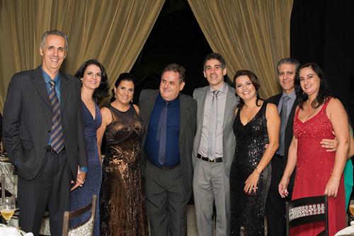 Flávio Cunha e Raquel, Kátia Paiva e Robson Araújo, Daniel Ulhoa e Gina, Eloísio Duarte e Marize