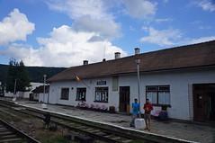 În gara Tălmaciu