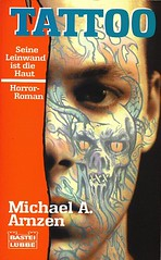 Tattoo - German Edition of Grave Markings by Michael Arnzen (1996)
