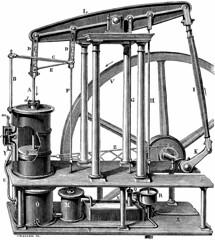 Machine à vapeur à double effet