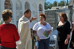 Priest preaching
