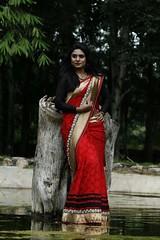South Actress Deepika Das Traditional Photos Set-1 (5)