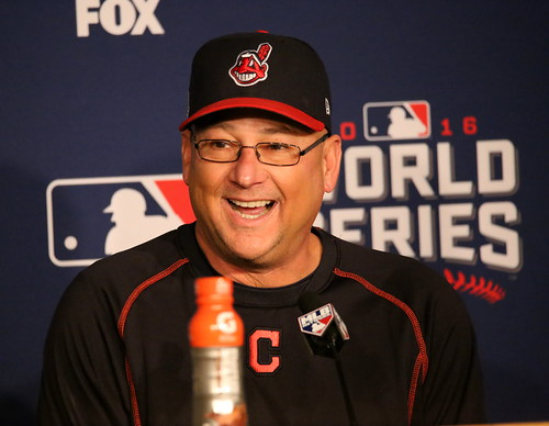 Photo of the Day Project, Oct. 31, 2016: Indians manager Terry Francona smiles during his off-day press conference at Progressive Field.
