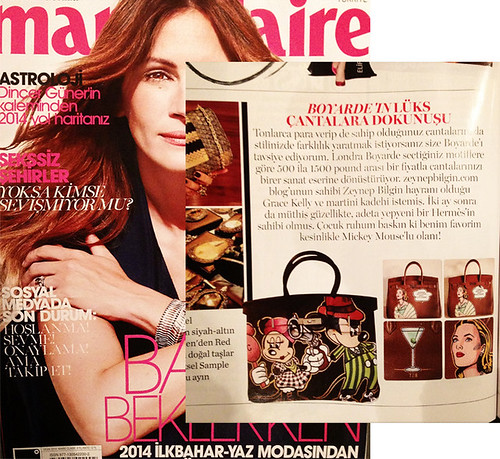 marie claire turkey bags 0114