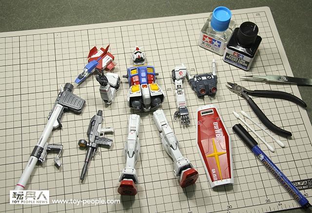 鋼普拉教室 Vol.1 初學者的第一步!(MG RX-78-2 Ver.3.0) | 玩具人Toy People News