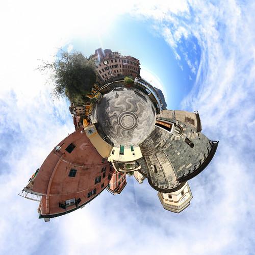 Vernazza Kirchplatz - Little Planet
