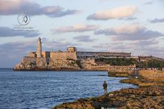 Morro Castle protects the Havana harbor.