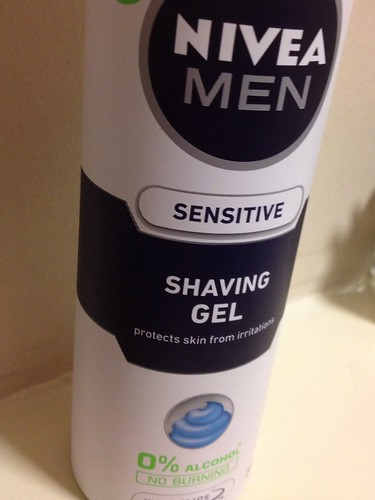 Today is all about...late night shaving