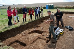 """West Kennet dig, 2014 • <a style=""""font-size:0.8em;"""" href=""""http://www.flickr.com/photos/96019796@N00/14684856827/"""" target=""""_blank"""">View on Flickr</a>"""