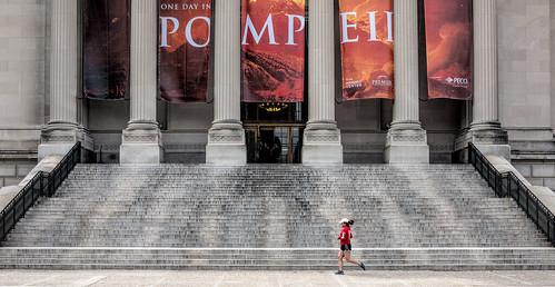 street red philadelphia museum facade canon pattern... (Photo: Darren LoPrinzi on Flickr)