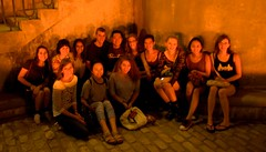 14  Visitors take in the lighting (Photo by John Nickerson)