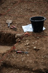 "West Kennet dig, 2014 • <a style=""font-size:0.8em;"" href=""http://www.flickr.com/photos/96019796@N00/14868312661/"" target=""_blank"">View on Flickr</a>"