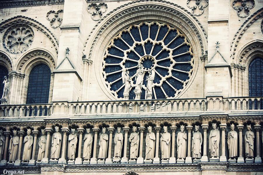 2016.10.02   看我的歐行腿  法國巴黎一日雙聖,在聖心堂與聖母院看見巴黎人的兩樣情 17