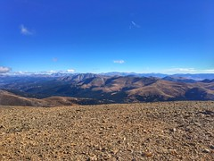 View from the summit of Mount Bross looking towards the northeast.