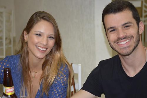 Carolina Reis e Felipe Assef