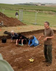 "West Kennet dig, 2014 • <a style=""font-size:0.8em;"" href=""http://www.flickr.com/photos/96019796@N00/14684757858/"" target=""_blank"">View on Flickr</a>"