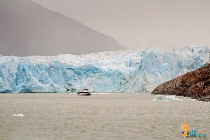 Chegou a hora do gelo, do frio... chegou a hora do Glaciar Perito Moreno!
