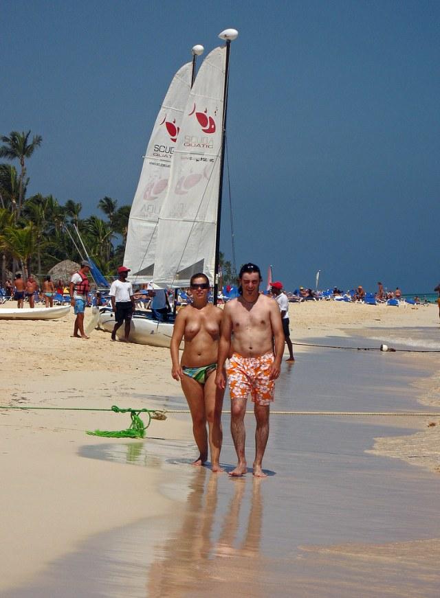 Punta Cana Beach Dhr2007 Tags Sea Beach Canon Topless Puntacana A640