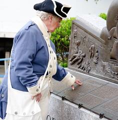 Warren Federal Blues at Irish Monument