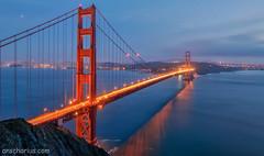 Blue Hour @ Golden Gate Bridge