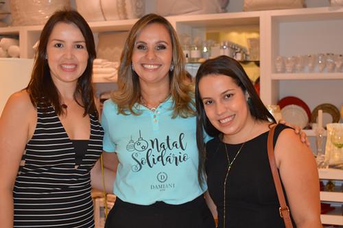 Chiara, Karina e Talita, a moça do Sebrae que dá lições de economia para a Damiani
