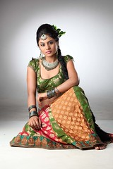 South Actress Deepika Das Traditional cum Hot Photos Set-3 (11)