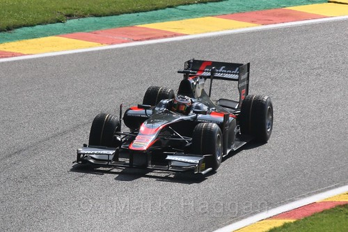 Stoffel Vandoorne in GP2 qualifying at the 2015 Belgium Grand Prix